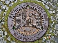 Ook St. Olav op de rioolputten