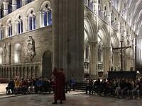 100 Noorse kinderen op excursie In de kathedraal