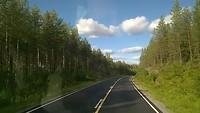 Film onderweg van Vaasa naar Viitasaari Finland
