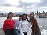 Pria, Nemuël, Alice en ik op de boot