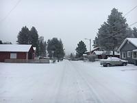 Sneeuw in Unbyn