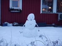 Snögubbe (sneeuwpop)