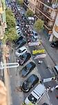 Demonstratie in de straat