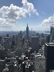 Uitzicht New York met Empire State Building