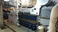 Machinekamer: Een van de 4 generators