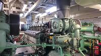 Machinekamer: Een van de 4 hoofdmotoren