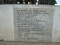 Point of no return monument