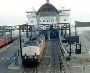 Trein ferry Dronning Ingrid