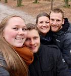 Foto in het Rijsterbos