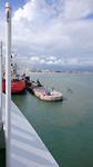 Vertrek Cotonou: Verlaten van haven