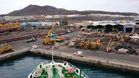 Haven Las Palmas: Aanmeren