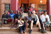 Groepsfoto Childrens Home Togo
