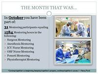 The month of October, slide 4
