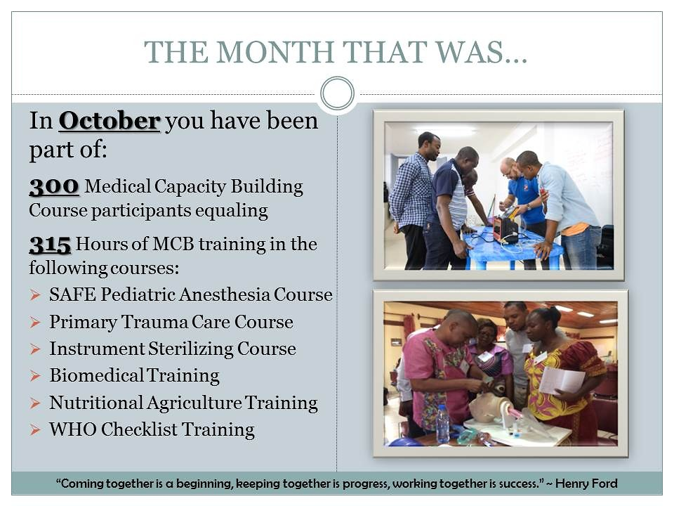 The month of October, slide 3