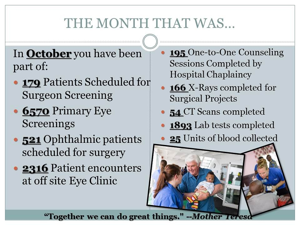 The month of October, slide 2