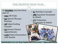 The month of October, slide 1