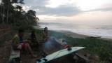 zonsondergang bij Amban