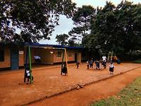 De speeltuin op school