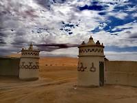 Toegangspoort Auberge de Sahara