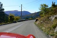 In de bergen