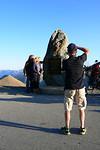 De top op 2802 meter