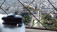 Bovenaan de Eiffeltoren