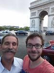 Aan de Arc de Triomphe