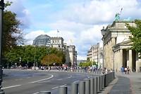 De Rijksdag en de Brandenburger Turm