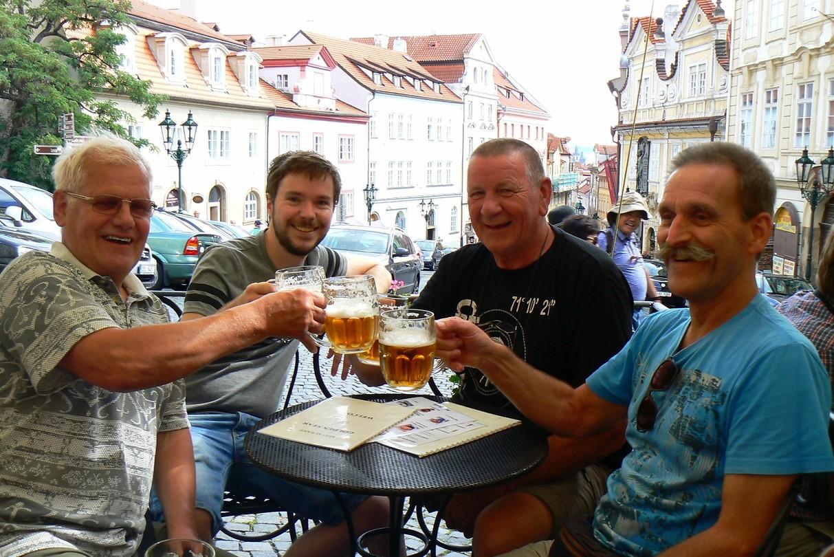 Gezellig aan het bier!