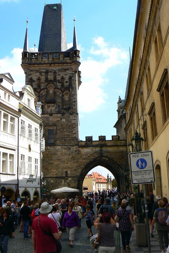 De Mala Stana stadsbrug toren