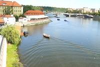 Rivier de Moldau
