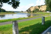 Het rivierenlandschap van de Elbe.