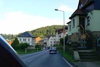 We rijden hier nog in Duitsland en we naderen de Tsjechische grens.