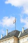 De vlag hangt in top!