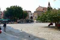 Het Campo San Polo plein