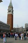 De beroemde toren van de Campanile