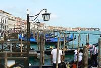 Vanaf hier kun je naar de eilanden aan de overkant van het San Marco Plein