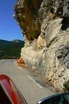 Oppassen voor vallende rotsblokken!