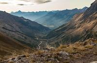 Zicht op het dal