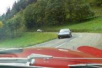 Porsche 914 en een Citroen Maserati