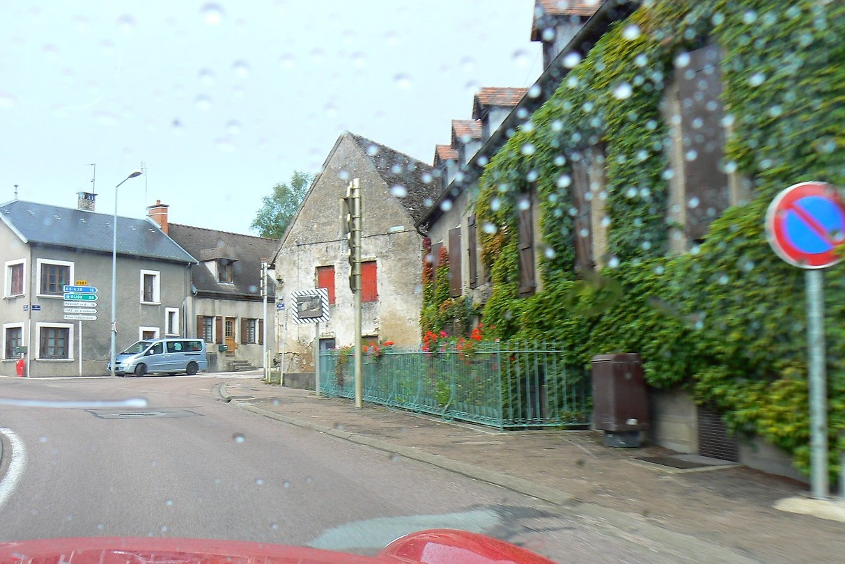 Het dorpje Créancey
