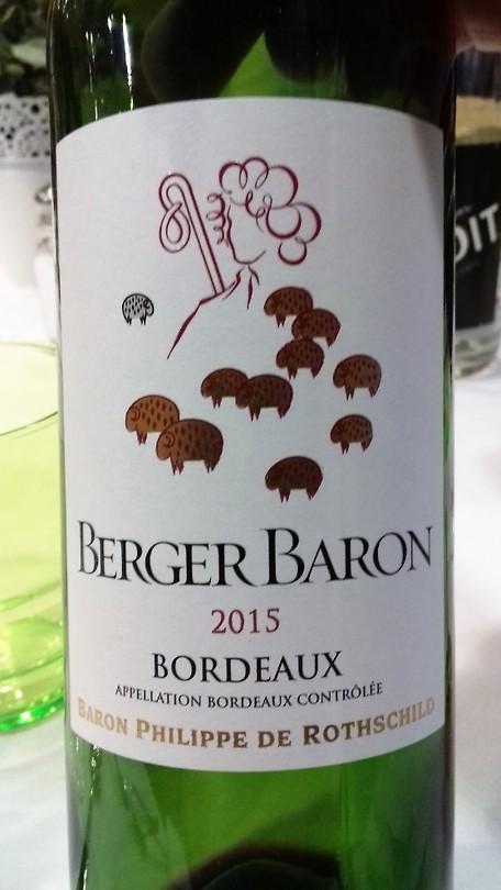 Berger Baron 2015 Bordeaux, een goed jaar!