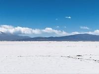 Zoutvlakte op ca. 3500 meter hoogte