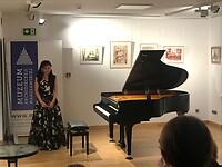Geweldige pianiste met muziek van Chopin