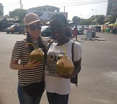 We are enjoying the coconut