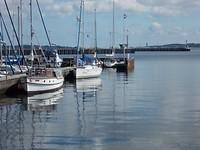 Jachthaven Wik bij Kiel