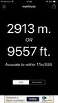Hoogte op Tioga pass