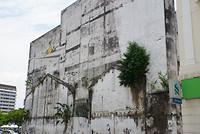 Street art in Ipoh, Maleisië