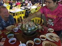 Heerlijk eten op de Food Market, Kuala Lumpur