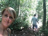 Ik op het junglepaadje